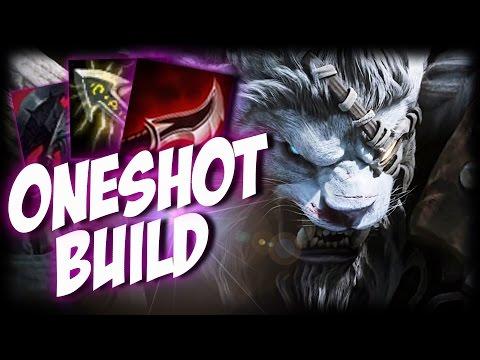¡RENGAR ONESHOT BUILD! | INSTA DELETE | Garmy | Diamante | ¿El  mejor asesino AD?