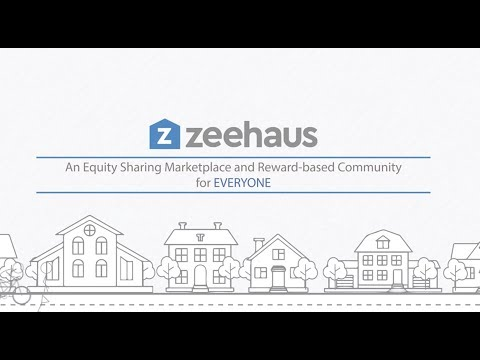 Zeehaus equity sharing real estate marketplace
