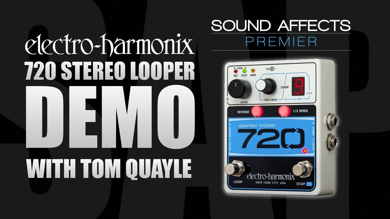 electro harmonix 720 looper guitar pedal demo review youtube. Black Bedroom Furniture Sets. Home Design Ideas