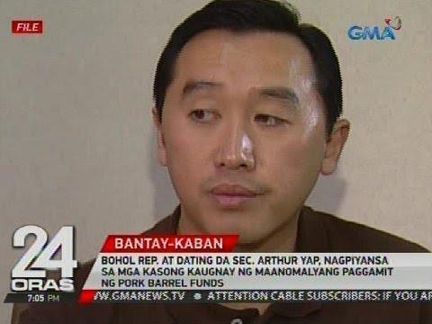 Arthur Yap, nagpiyansa sa mga kasong kaugnay ng maanomalyang paggamit ng pork barrel funds