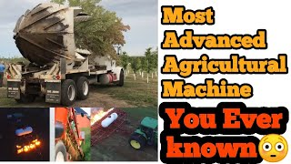 Most Advanced Agricultural Machines - You Ever Known || Telugu unknown Facts