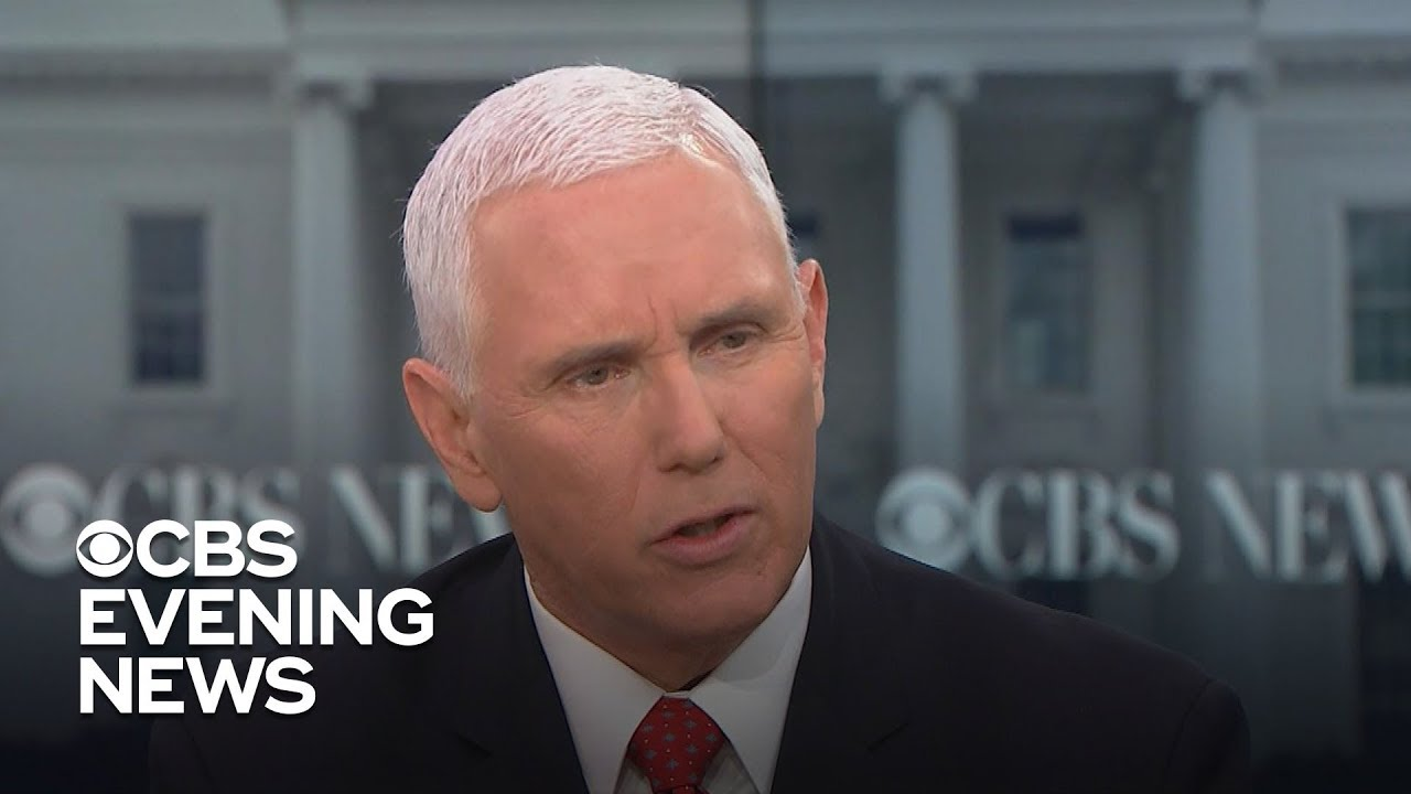 Transcript: Mike Pence on the possibility of another government shutdown
