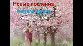 Учитель Христос. Послание от 28 апреля 2020