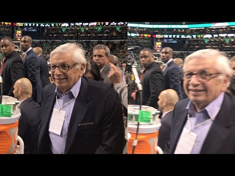 I ASKED DAVID STERN IF THE NBA DRAFT LOTTERY IS RIGGED