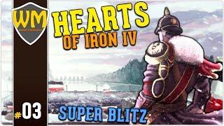 HOI4 Alemanha Super Blitz #03 - Tudo Stalindo - Gameplay PT BR