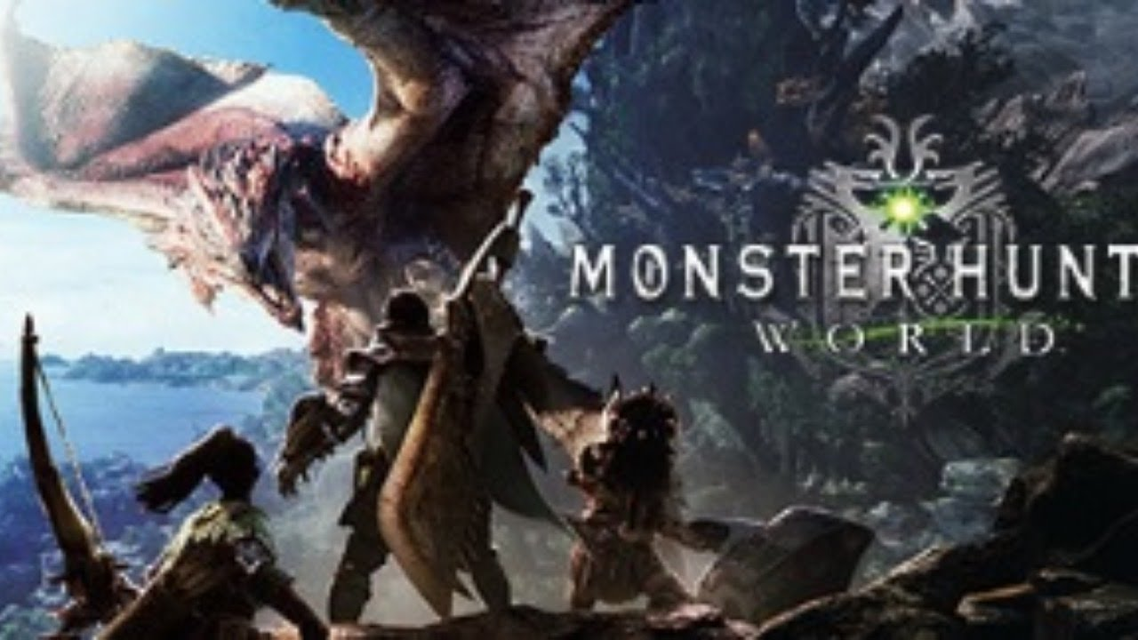Monster Hunter:World(魔物獵人:世界) Mu直播。新手上路第二件事:被龍追? 不。是苦逼解主線XD - YouTube
