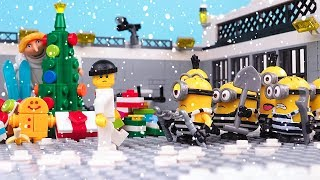 Download Minions in Prison • a Christmas Story • Despicable Me Stop Motion Mp3 and Videos