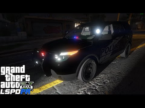 GTA 5 LSPDFR Police Mod 91 | Ghost AKA Stealth Ford Police Interceptor Explorer | Catching Criminals