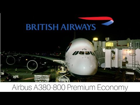 Trip Report | British Airways | Los Angeles - London | World Traveller Plus | Airbus A380-800