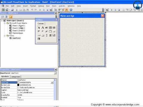 VBA userform controls textbox - Excel VBA - Visual Basic Tutorials