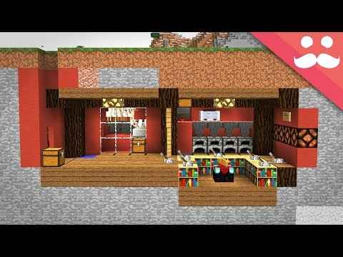 How To Make A SURVIVAL BUNKER In Minecraft!
