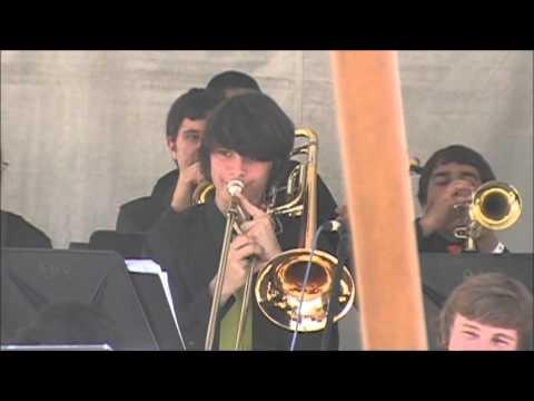 LQHS Jazz Band Peter Gunn at Rock the House