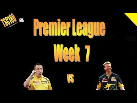 premier league darts week 7