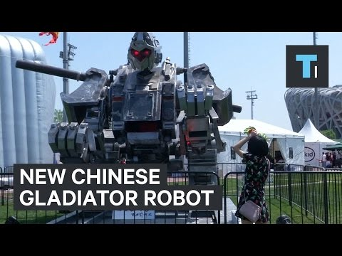 Thumbnail: New Chinese gladiator robot to challenge the US' 'Megabot'