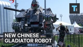 New Chinese gladiator robot to challenge the US