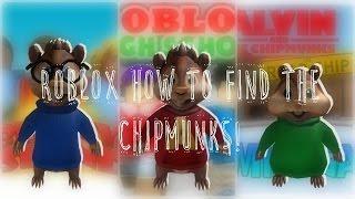 Roblox: Comment trouver Alvin - Les Chipmunks!