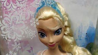 Sparkle Princess Elsa Doll - Disney Frozen - Mattel - Y9960