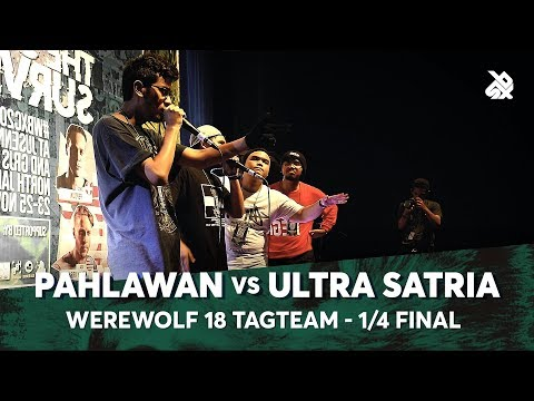 PAHLAWAN vs ULTRA SATRIA | Werewolf Tag Team Beatbox Championship 2018 | 1/4 Final