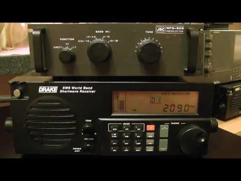 LW-DX 209kHz Mongolia Radio - Choibalsan / Drake SW8