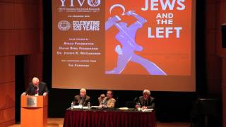 Ronald Radosh at YIVO Jews and the Left (CLIP)