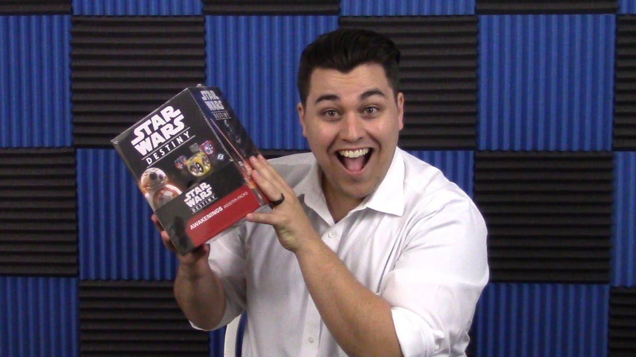 Star Wars Destiny Awakenings Booster Display ENGLISCH