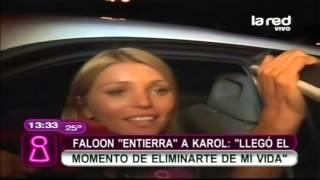"""Faloon culpa a Karol Dance por el quiebre: """"Llegó el momento de eliminarte de mi vida"""""""