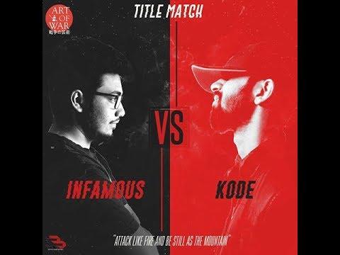 B3 India | Desi Rap Battle | MC Kode vs Infamous |