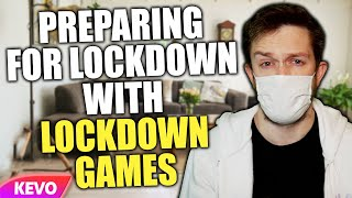 Preparing for my second lockdown by playing lockdown games