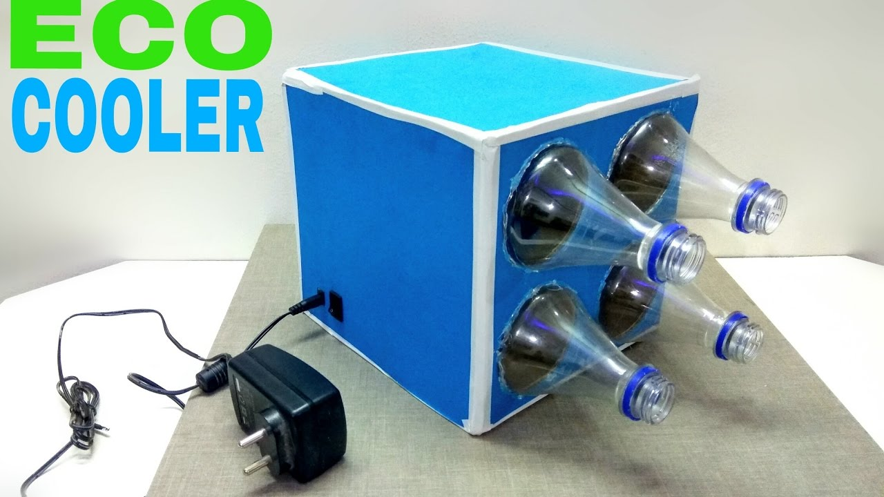 How To Make Eco Air Cooler At Home Diy Homemade Youtube