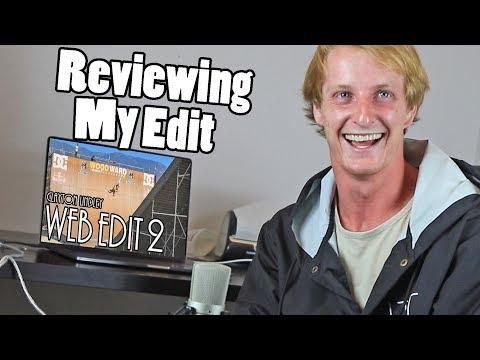 CLAYTON REVIEWS HIS WEB EDIT 2