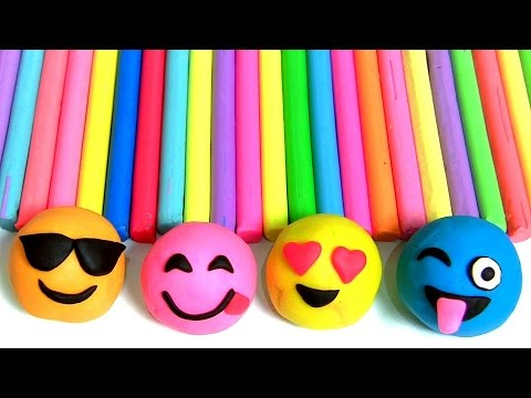 Thumbnail: 4 Play Doh Emojis Learn COLORS Toy Story Toys Baby Mickey Pop Up Clay Surprise Barbapapa 。◕‿◕。