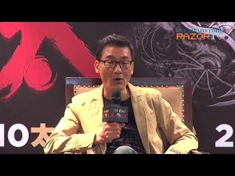 Tony Leung Ka Fai to wear a gstring? Tai Chi 0 Press Conference Pt 3