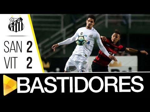 Santos 2 x 2 Vitória | BASTIDORES | Brasileirão (16/10/17)