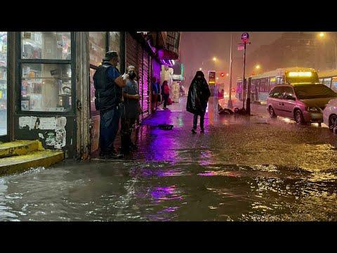 Download Les restes de la tempête Ida provoquent des inondations à New York, état d'urgence décrété