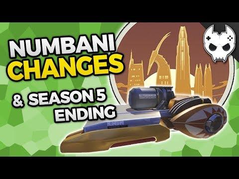 Overwatch NUMBANI CHANGES - Season 5 End & Season 6 Start