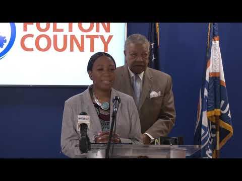 Fulton County Rental Assistance Presser