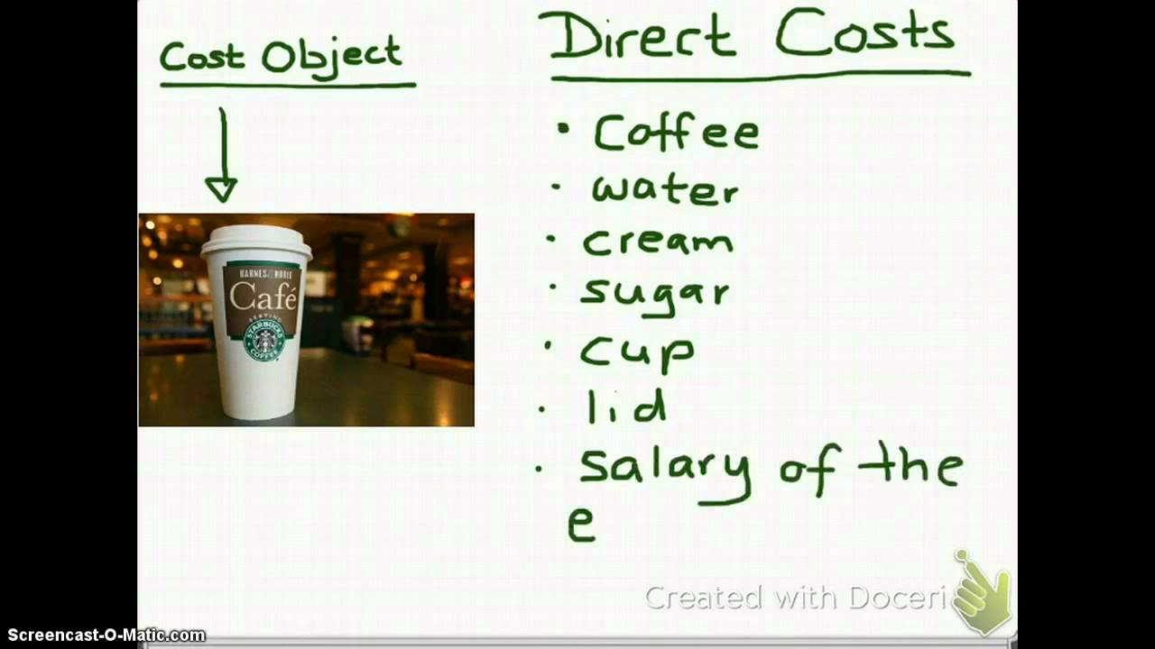 costs and direct cost The essential difference between direct costs and indirect costs is that only direct  costs can be traced to specific cost objects a cost object is.