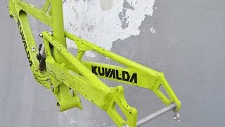 Обзор велосипеда для скоростного спуска от Kuvalda bikes.(Обзор моего велосипеда для даунхилла. http://vk.com/kuvaldabikes - группа Kuvalda Bikes ВКонтакте. http://twentysix.ru/blog/kuvalda_raci... -..., 2015-12-11T19:37:23.000Z)