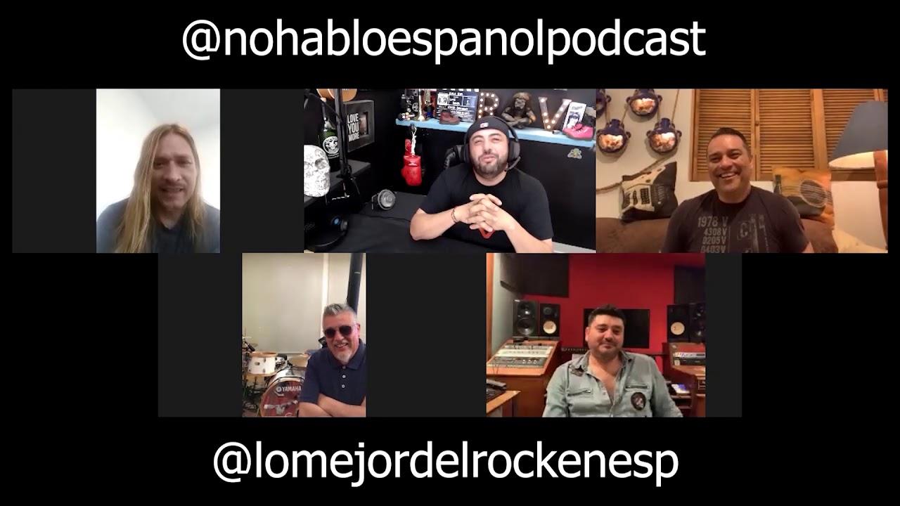 NO HABLO ESPANOL con Richard Villa y Lo Mejor del Rock
