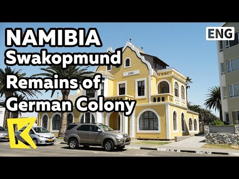 【K】Namibia Travel-Swakopmund[나미비아 여행-스바코프문트]독일 식민 시절 흔적/Remains of Colony/German/Village Café