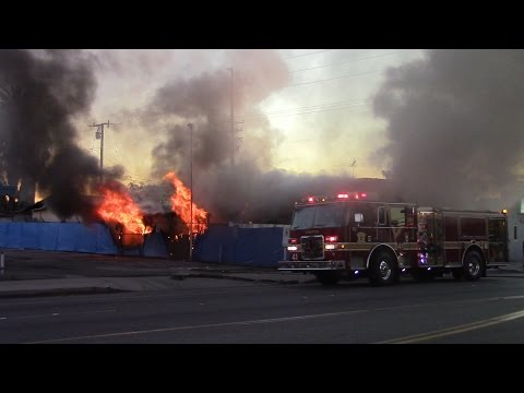 Structure Fire - City of Compton, CA