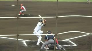 20130529 中原恵司 ホームラン!雁ノ巣ホークス 九州総合スポーツカレッジ戦