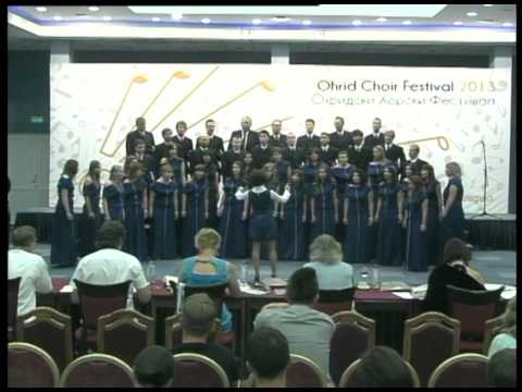 Choir of Maritime University of Szczecin (Ohrid Choir Festival 2013)