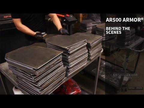 AR500 Armor® behind the scenes!