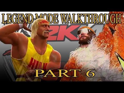 Hulk Hogan Vs Randy Savage - 30 Years Of WrestleMania Walkthrough WWE 2K14 Part 6