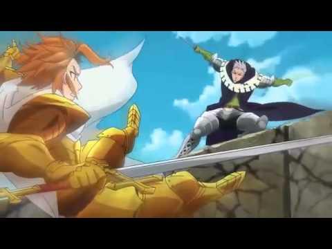 Nanatsu no taizai ~ Arthur Pendragon VS Hendrickson