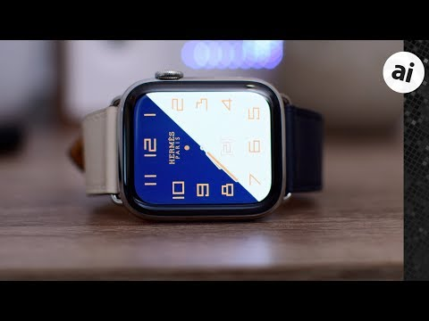 Hands on with $1300 Hermés Apple Watch Series 4!