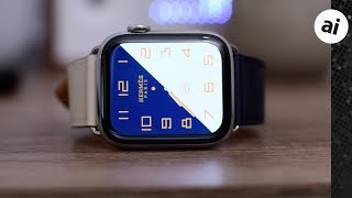 Gambar cover Hands on with $1300 Hermés Apple Watch Series 4!