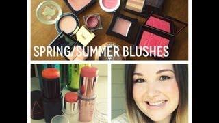 Spring/Summer Blush Picks!