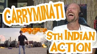 SOUTH INDIAN ACTION - Carryminati - Reaction